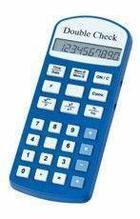 DoubleCheck Говорящий карманный калькулятор на русском языке, батарейное питание арт. 4031
