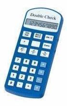 DoubleCheck Говорящий карманный калькулятор на русском языке, с переходником арт. 4032