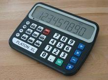 Platon Говорящий научный калькулятор Platon XL для плоховидящих арт. 4036