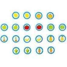 Noname Игра для детей Мемори «Овощи - фрукты» (20 фишек) арт. KnV22395