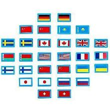 Noname Игра для детей Мемори «Флаги» (30 фишек) арт. KnV22397