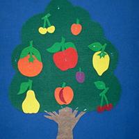 Noname Игра-пособие для детей «Дерево», 50 на 50см арт. KnV22402