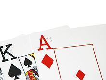 Noname Игральные карты для незрячих и слабовидящих людей со шрифтом Брайля арт. ИА3649