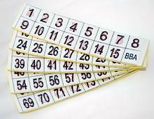 Noname Фишки для игры «Бинго» со шрифтом Брайля арт. ИА3657