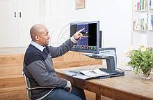 Optelec Видеоувеличитель и читающее устройство Optelec ClearView + Speech (HD) с сетевым кабелем