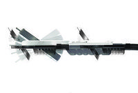 Eschenbach Лупа асферическая настольная с подсветкой и креплением на струбцине varioLED flex, диам. 76 мм,