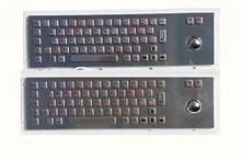 Noname Металлическая антивандальная клавиатура c Track ball трекбол trackball TG-PC-D арт. ТчБ24247