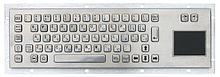 Noname Металлическая антивандальная клавиатура с Touch Pad тачпад touchpad TG-PC-DT арт. ТчБ24250