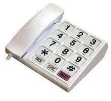Noname Телефон с большими кнопками и шрифтом Брайля, с АОН арт. 3727