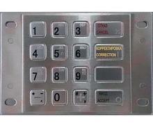 Noname Клавиатура цифровая Keypad SZZT ZT593C PS/2 арт. ТчБ24269