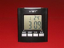 VST Говорящий будильник KS-6901 с термометром арт. 4337