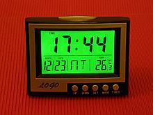 Lo Go Говрящий будильник KS-352-3 с термометром арт. 4338