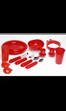 Titan Deutschland GmbH Комплект столовой посуды (красный) 11 предметов арт. MT11048