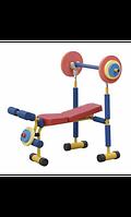 Moove&Fun Детский тренажер скамья для жима арт. MT11257