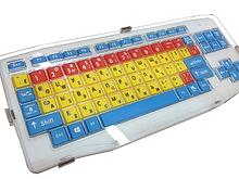 ИА Клавиатура адаптированная беспроводная с большими кнопками и накладкой арт. ИА24640