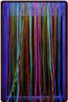 Noname Безопасное настенное зеркало с у/ф подсветкой и светящимися нитями «Загадочный свет» арт. АЛ12533