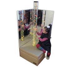 Noname Детский зеркальный уголок с пузырьковой колонной арт. АЛ12581