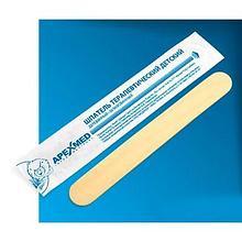ИА Шпатель терапевтический, детский, стерильный (уп. 100 шт) арт. ИА22853