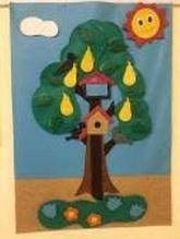 ИА Панно «Грушевое дерево» - 4 времени года арт. ИА24730