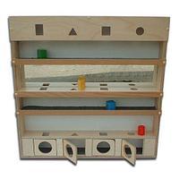 Noname Настенный модуль с объемными телами и зеркалами