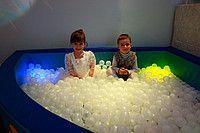 Noname Интерактивный сухой бассейн угловой с подсветкой и переключателями (без шаров) арт. RM12521