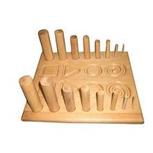НПП ДВМ Тренажер для развития силы пальцев рук Панель настольная для координации арт. 16540МО403.6