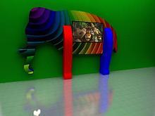 Noname Интерактивная сенсорная панель «СЛОН» арт. PVM21395