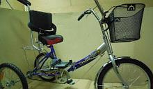 Noname Корзинка для велосипеда-тренажера ВелоЛидер арт. VL21340
