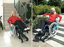 Noname Лестничное гусеничное подъемное устройство для инвалидов Stairmax в комплекте с адаптированной коляской