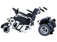 Titan Deutschland GmbH Кресло-коляска инвалидная электрическая 2 в 1 с возможностью установки колес с ручным