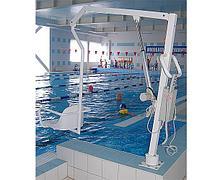 INVAPROM Подъемник для бассейна с электрическим приводом с аккумулятором для инвалидов ИПБ-170Э арт. Ipr12196
