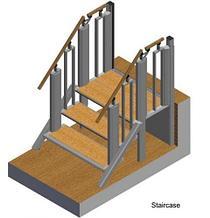Noname Лестница-трансформер FlexStep V2 / 3+1 ступеньки / внутренняя / высота подъёма до 740 м арт. OB20957