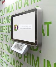 Noname Информационный терминал для инвалидов многофункциональный Титаниум Доступная среда 42 дюйма арт.