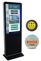 ИА Информационный терминал ISTOK 42P со встроенной индукционной системой, со специальным ПО для инвалидов INVA
