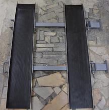 Noname Пандус откидной двойного сложения (3500 мм) арт.ИА18303