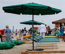 Noname Зонт пляжный алюминевый арт. OB20922