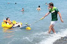 Noname Кресло-коляска пляжная Tiralo-2 XL плавающая арт. OB18538