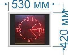 Noname Стрелочные светодиодные часы. Размер 530х420х60 мм арт. КрС22091