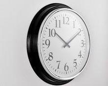 Noname Стрелочные часы для офиса. Диаметр 590 мм. Толщина 80 мм. со входом синхронизации Ethernet («мама»)
