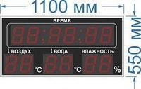 Noname Табло информационное №97 метео станция для помещения арт. КрС22160