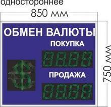 Noname Табло курсов валют № 6. Переменный знак. (одностороннее) арт. КрС22180