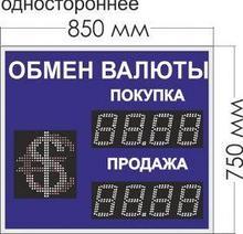 Noname Табло курсов валют № 8. Переменный знак. (одностороннее) арт. КрС22181