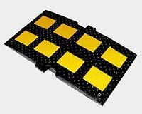 Noname Искусственная дорожная неровность ИДН-900-1 (серединный элемент 900х500х58мм) арт. ДЗ20292