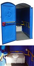 Noname Мобильная туалетная кабина «Инвалид» арт. Egr23811
