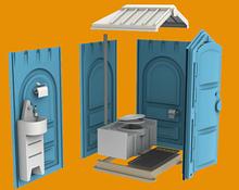 Noname Мобильная туалетная кабина «ЛЮКС» арт. Egr23812
