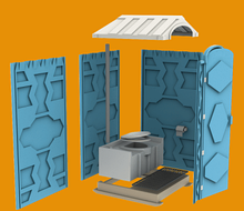 Noname Мобильная туалетная кабина «Эконом» арт. Egr23813