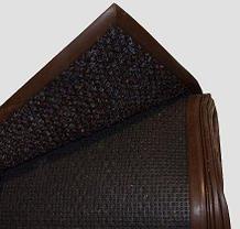 Noname Нескользящее покрытие с ворсом (12 кв.м) темно-коричневый в канте 3х4 м арт. ИА18290
