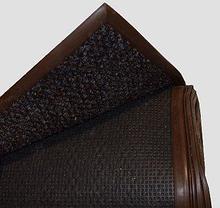 Noname Нескользящее покрытие с ворсом (7.6 кв.м) темно-коричневый в канте 4х1,9 м арт. ИА18293