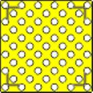 ИА Трафарет для тактильных конусов из металла арт. ИА25055