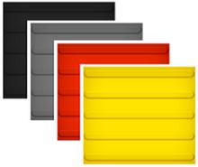ИА Плитка тактильная 300х300 мм ПВХ (конусы, полосы, диагонали) для  помещений (черный, серый, красный) арт.